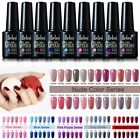 Belen Nude/Gray/Wine Red/Pink Purple/Blue Series UV Led Gel Nail Polish