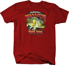Fishing for Walleye Bite This Hook Rod Nature Wildlife Lures Tshirt