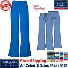 Внешний вид - Cherokee Scrubs ORIGINAL Women's Natural Rise Flare Leg Medical Pant(4101)_R