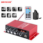 NKTECH MA-130 Car Audio Digital Amplifier Player Bluetooth HiFi Stereo BASS MIC