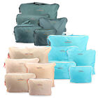 5PCS Waterproof Clothes Travel Storage Bags Packing Cube Luggage Organizer Pouch