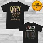 Ozzy Osbourne t Shirt Megadeth 2019 No More Tours 2 Size Men Black Gildan image