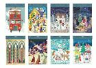 Ling Large Advent Calendars 340 x 250 mm religious & traditional white envelope