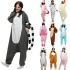 Fancy Dress Adult Cosplay Hooded Costume Pajamas Animal Sleepwear Suit Kigurumi
