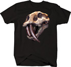 Prehistoric Dinosaur Mammoth Skull Skeleton Extinct Endangered Fossil Tshirt