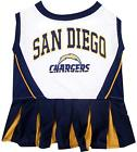 SAN DIEGO CHARGERS NFL Dog Pet Cheerleader Dress $19.65 USD on eBay