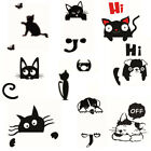 Funny Cute Cat Dog Switch Wall Stickers Bedroom Living Room Home Decorations C8