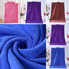 Внешний вид - 1PC Bathing Towel Shower Absorbent Superfine Fiber Soft Comfortable Bath Towel