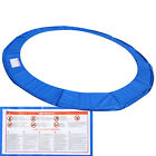 Safety Pad Mat Round Pad Cover Replacement Fits 10'/12'/14'/15' Trampoline Frame