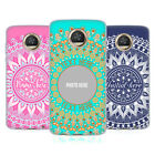 CUSTOM CUSTOMISED PERSONALISED MANDALA SOFT GEL CASE FOR MOTOROLA PHONES