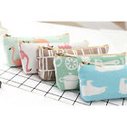 Lovely Flamingo Pencil Case Stationery Storage Organizer Cosmetic Case Bag S
