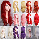 Cheap Women Ladies Long Hair Full Wig Heat Resistant Synthet