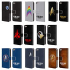 OFFICIAL STAR TREK DISCOVERY BADGES LEATHER BOOK CASE FOR APPLE iPOD TOUCH MP3 on eBay