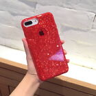 For iPhone 7 8 Plus X s Bling Glitter Luxury Cute Phone Case Protective Cover