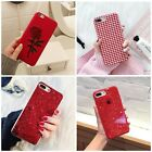 Bling Glitter Luxury Cute Phone Case Protective Cover For iPhone 7 8 Plus Xs X