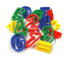 Biscuit cutters play doh playdough letters numbers easter gingerbread man mixed