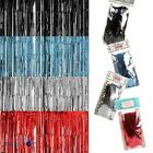 90 x 240m Shimmer Foil Metallic Door Curtain Cover Wall Party Decoration