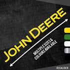 Long John Deere Sticker / Decal - Multiple Sizes & Colours - Tractor - Lawnmower