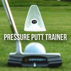 PuttOUT Pressure Putt Trainer Golf Gift for Golfer Putting Training Aid Hole Cup