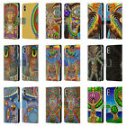 OFFICIAL CHRIS DYER SPIRITUAL LEATHER BOOK WALLET CASE FOR APPLE iPHONE PHONES