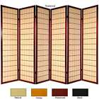 Handmade Wooden Kimura 6-panel Room Divider (China)