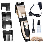 NEW Electric Animal Pet Dog Cat Hair Trimmer Shaver Razor Grooming Quiet Clipper <br/> Low Noise 60dB +Free Delivery+ US Power Plug + All Pets