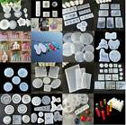 Silicone Resin Mold for DIY Jewelry Pendant Making Tool Mould Handmade Craft US