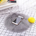 Soft Artificial Sheepskin Rug Chair Cover Artificial Wool Hairy Carpet Seat RB