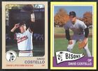1986 87 88 89 92 David Lipscomb University Bisons Set Breaks - Choose Player Lot