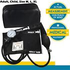 Manual Blood Pressure Monitor BP Cuff Gauge Aneroid Sphygmomanometer Machine Kit $11.75 USD on eBay