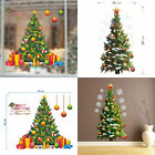Christmas Tree Wall Stickers Xmas Art Home Door Shop Window Decor Decals Remove