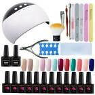 StoreInventoryus pro starter nail gel kit uv lamp nail art tools acrylic uv kit manicure salon