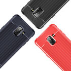 SOLID GEL CASE COVER FOR SAMSUNG GALAXY S10 S9 PLUS SHOCK ABSORBING CORNERS