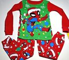 New Spiderman Christmas holiday Toddler boys pajamas 2t 3t 4t 5t Spiderman PJ's
