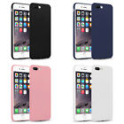 THIN FIT GEL CASE SKIN FOR iPhone X/XS,XS MAX,XR,7/8,PLUS COVER MATTE FINISH