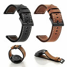 Luxury Leather Wrist Strap Band Bracelet For Samsung Galaxy Watch 42mm 46mm image