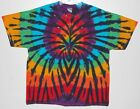 Adult TIE DYE Rainbow Spider T Shirt art 5X 6X Grateful Dead hippie furthur