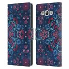 OFFICIAL MICKLYN LE FEUVRE MANDALA LEATHER BOOK WALLET CASE FOR SAMSUNG PHONES 3
