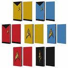 OFFICIAL STAR TREK UNIFORMS AND BADGES TOS LEATHER BOOK CASE FOR AMAZON FIRE on eBay
