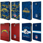 NFL 2018/19 LOS ANGELES CHARGERS LEATHER BOOK CASE FOR SAMSUNG GALAXY TABLETS $36.95 USD on eBay
