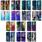 OFFICIAL HAROULITA FANTASY 1 LEATHER BOOK WALLET CASE COVER FOR LG PHONES 2