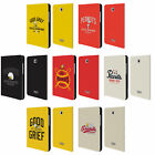 OFFICIAL PEANUTS VARSITY SPORTS LEATHER BOOK CASE FOR SAMSUNG GALAXY TABLETS