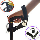 Easy Fit Walking Stick Wrist Strap belt & Cane Crutch Clip Holder Stand Grip Aid