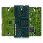 HEAD CASE DESIGNS CIRCUIT BOARDS HARD BACK CASE FOR SONY PHONES 2