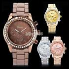 Fashion Ladies Women Girl Unisex Stainless Steel Analog Quartz Wrist Watch IS 03 image