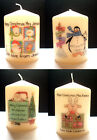 personalised teacher teaching assitant christmas candle end of term gift present