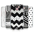 HEAD CASE DESIGNS BLACK AND WHITE DOODLE PATTERNS GEL CASE FOR WILEYFOX PHONES