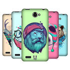 HEAD CASE DESIGNS FAUNA HIPSTERS HARD BACK CASE FOR LENOVO PHONES