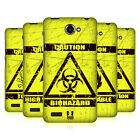 HEAD CASE DESIGNS HAZARD SYMBOLS HARD BACK CASE FOR LENOVO PHONES