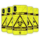 HEAD CASE DESIGNS HAZARD SYMBOLS SOFT GEL CASE FOR APPLE iPHONE PHONES
